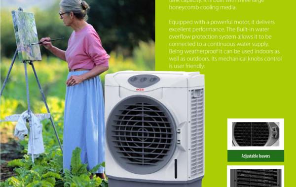 aa60pmc large evaporative air cooler - Evaporative Air Cooler